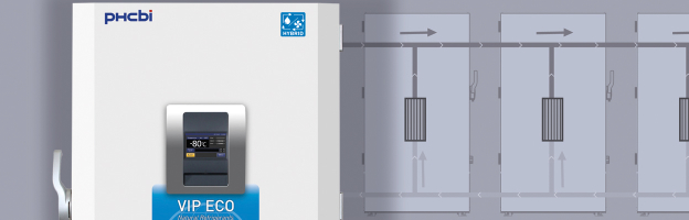 Hybrid Water Cooled Freezers (-86°C/-150°C)