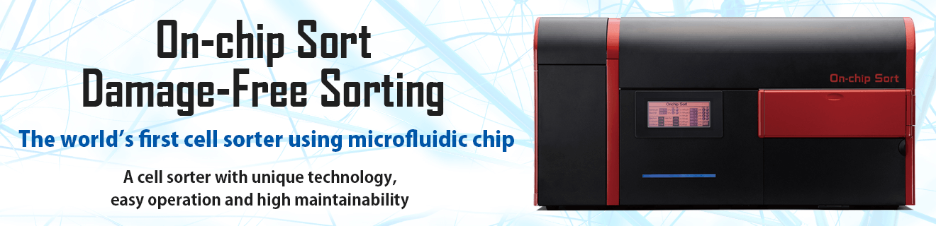 On-­chip Sort­ the microfluidic chip cell sorter