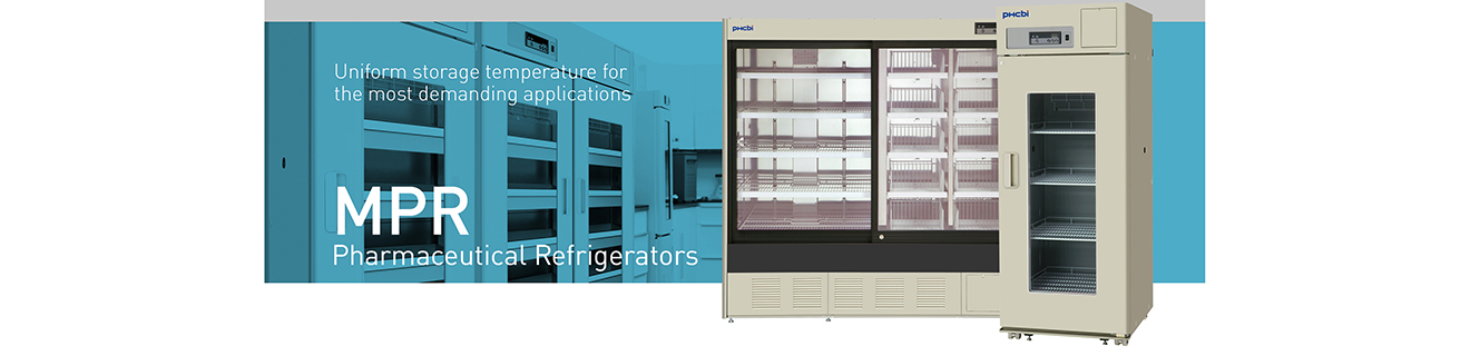 MPR Pharmaceutical Refrigerators | Uniform storage temperature for the most demanding applications