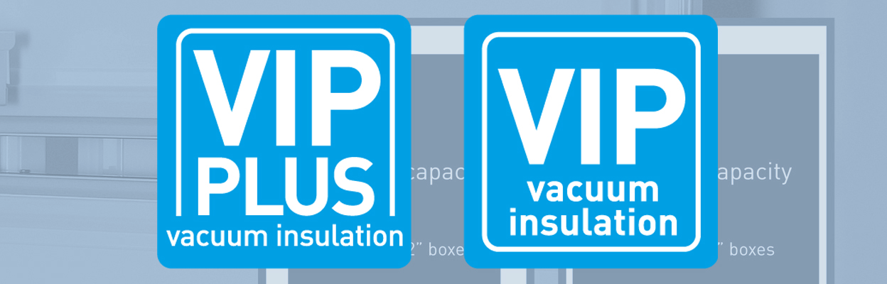 Patented VIP Vacuum Insulation Panels