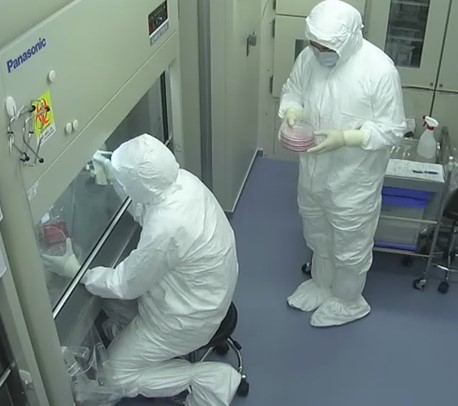 Cell Preparation Room 5 (Regenerative Therapy Research Center/ Orthopedics)
