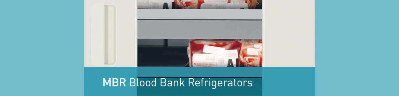 PHCbi Blood Bank Fridge to store whole blood and blood components | Product features