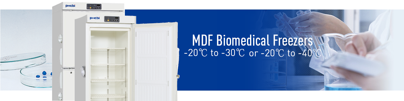 PHCbi Medical & Laboratory Freezers offer unrivalled temperature uniformity and stability