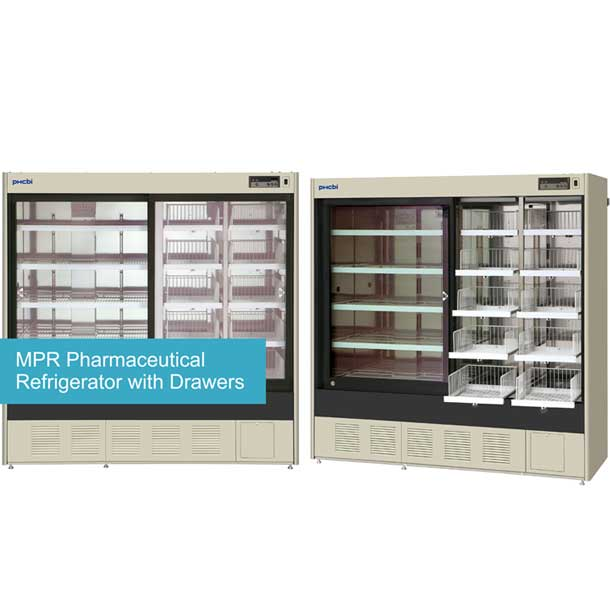 PHCbi Pharmaceutical Refrigerator Swing Door type