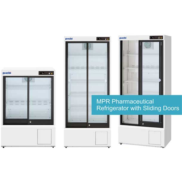 PHCbi Pharmaceutical Refrigerator Sliding Door type