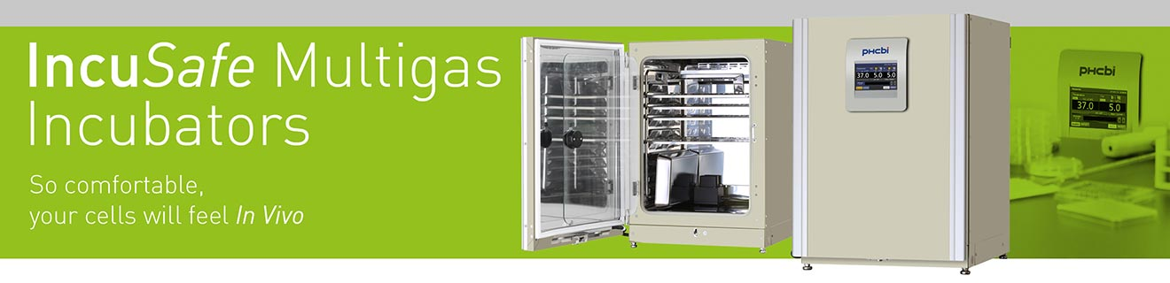 MCO-170M Multi gas Incubators provide the most stable environment for your cell culturing