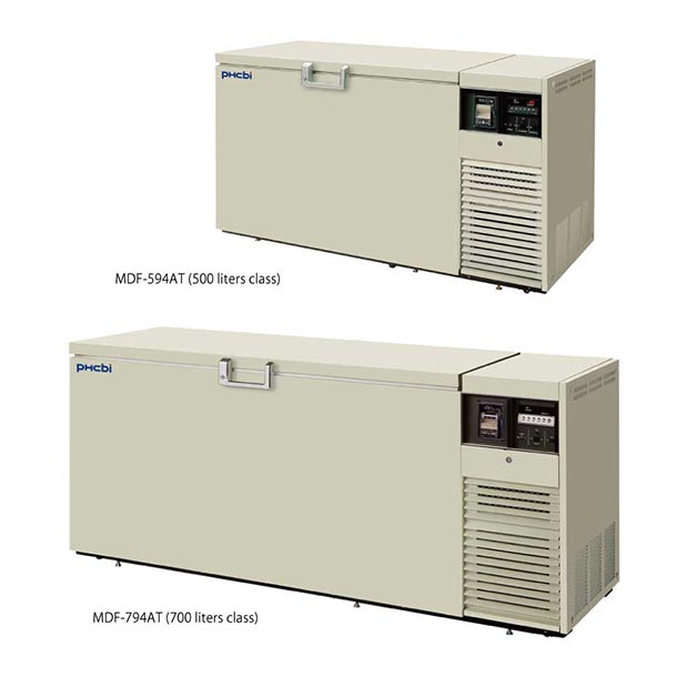 PHCbi chest type ULT freezers