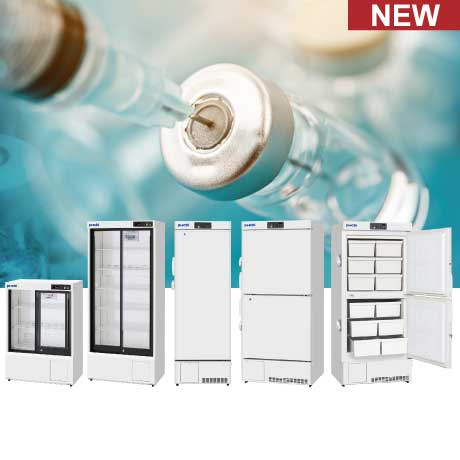 PHCbi New ECO Vaccine Pharmacy Fridge and Laboratory Freezers