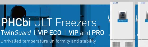 Banner for pickup contents of PHCbi ULT freezers