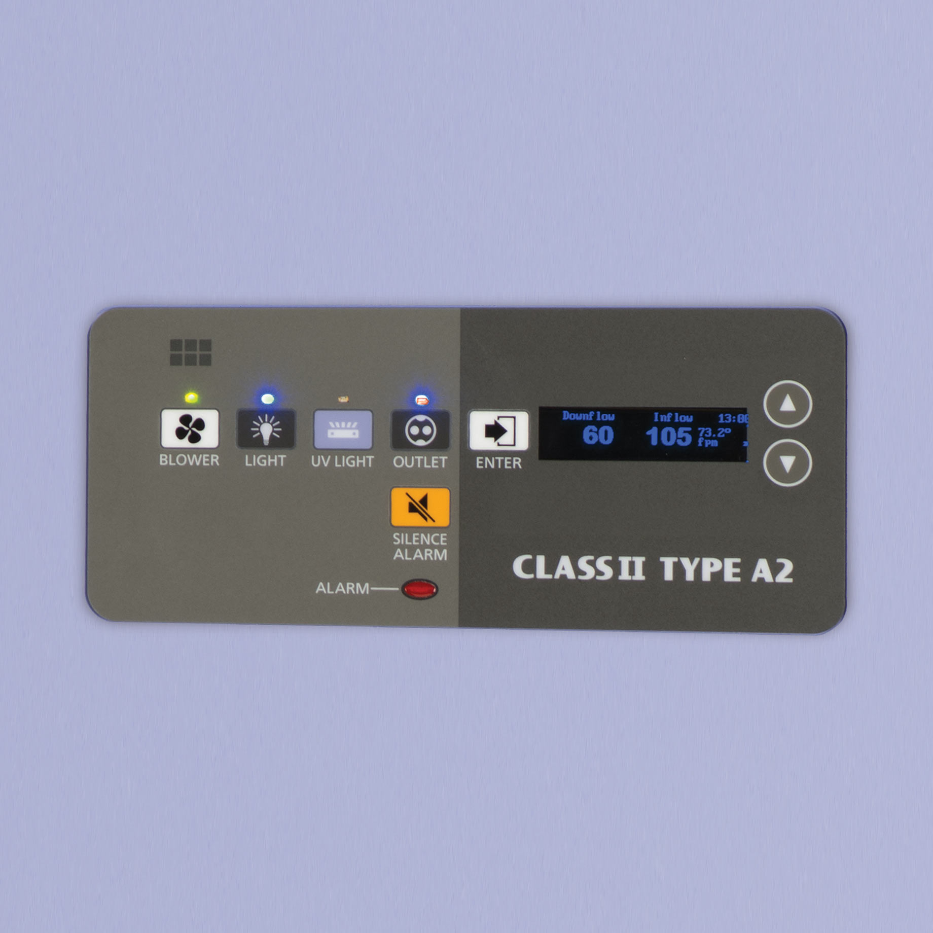 bsc ii, biosafety level 2 cabinet MHE-N600A2-PA Controller