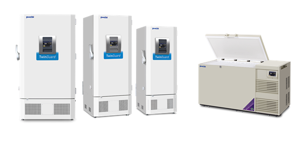 TwinGuard Series Ultra Low Laboratory Freezers