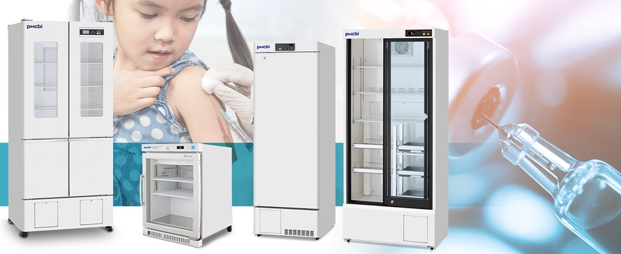 vaccination freezers and refrigerators